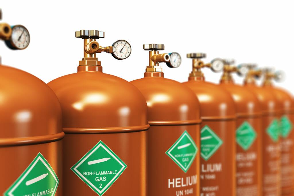 Gasflaschen mit Helium liefern lassen