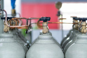 Sauerstoff Flaschenbündel