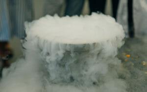 kaltdehnen mit flüssigem Stickstoff