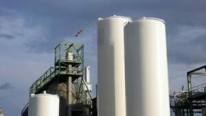 Lagerbehälter technische Gase